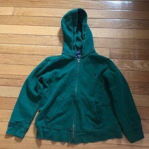 ralph lauren childrens hooded sweatshirt